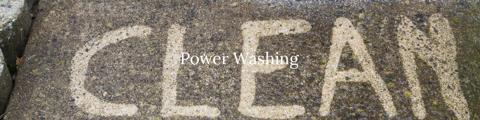 Power washing in Macomb - bricks, cement, siding and more