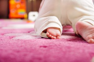 Carpet cleaning for your baby