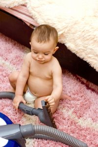 childproof your carpet